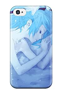 High Quality Shock Absorbing Case For Iphone 4/4s-hatsune Miku Vocaloid Hair Sleep Anime Girls