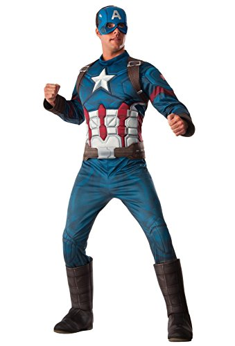 Rubie's Men's Avengers 2 Age Of Ultron Adult Captain America, Multi, X-Large