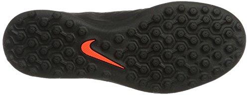 Nike Hypervenomx Phade Iii Tf, Zapatillas de Fútbol Unisex Niños Negro (Black/metallic Silver-black-total Crimson)
