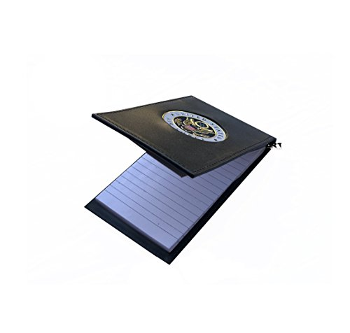 Military Note Pad, The Official US AIR FORCE Notebook Case with Medallion 3