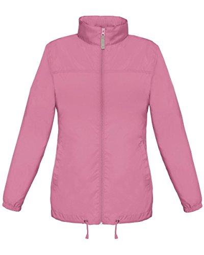 B&C - Abrigo - para mujer Pixel Pink