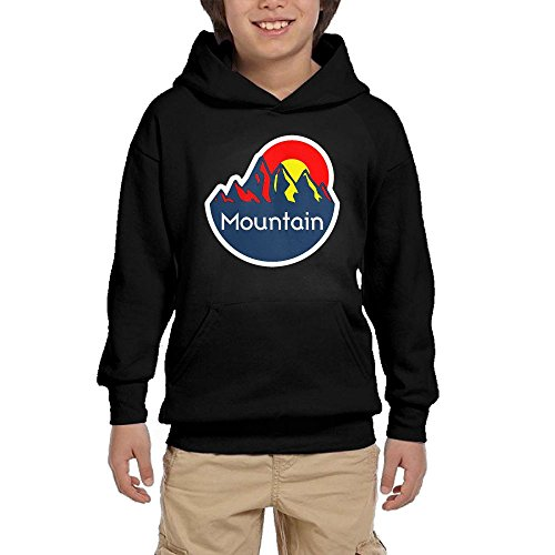 Nice Colorado Mountain Teen Girls Pullover Hoodie Fashion Pocket Sweatshirts for cheap