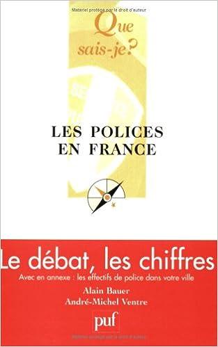 Livres Les Polices en France : Le Débat, les chiffres epub pdf