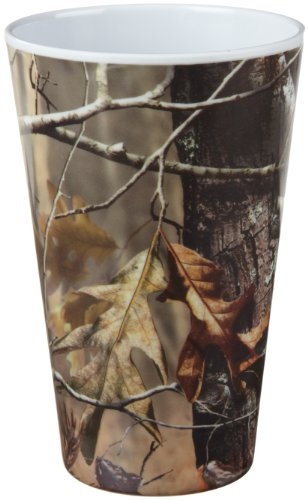 DII Real Tree Melamine Tumbler, Set of 6