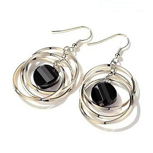 Plated Earrings Couture Gold Disney - Rhame Women Boho Gold Plated Geometric Dangle Drop Ear Stud Earrings Party Jewelry New | Model ERRNGS - 5821 |