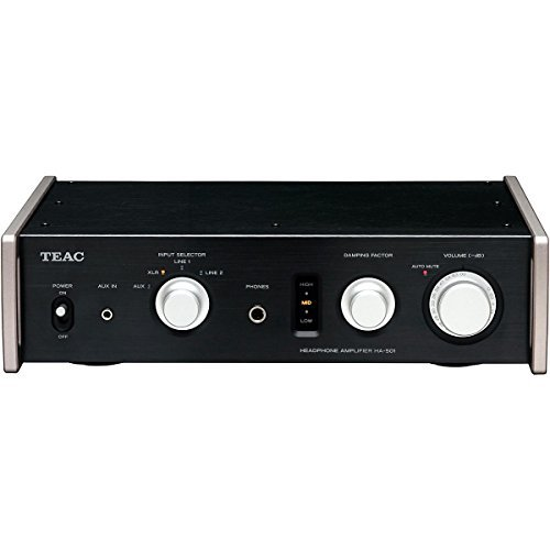 - Teac HA-501-B Dual Monaural Headphone Amplifier