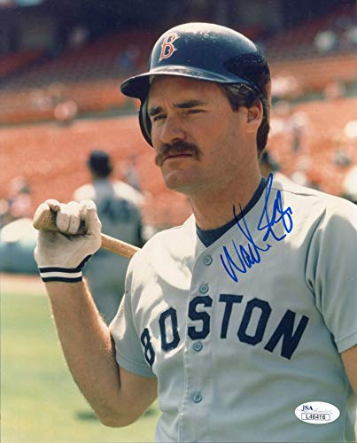 Wade Boggs Autographed 8x10 Photo (JSA)