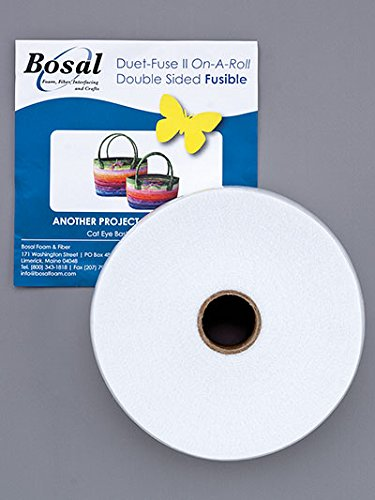 "Bosal Duet Fuse II on a Roll - Double Sided Fusible 2.25"" x 20yd Roll (1)"