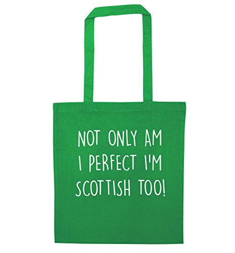 perfect am I too bag Green Not I'm tote Scottish only UwpcHP