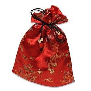 Protective Silk Mahjong Tile Bag