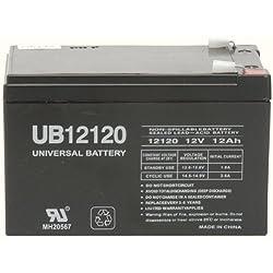 UPSBatteryCenter Battery Set Replacement for PCM Powercom King Pro KIN-2200APRM 4 12V 7Ah F2