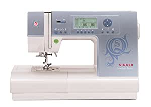 Singer | Quantum Stylist 9980 Computerized Portable Sewing Machine 820-Stitches, Electronic Auto Pilot Mode, Extension Table Bonus Accessories, Best Sewing Machine Quilting