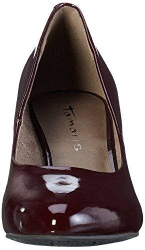 Tamaris Damen 22416 Pumps Braun (Bordeaux Pat. 580)