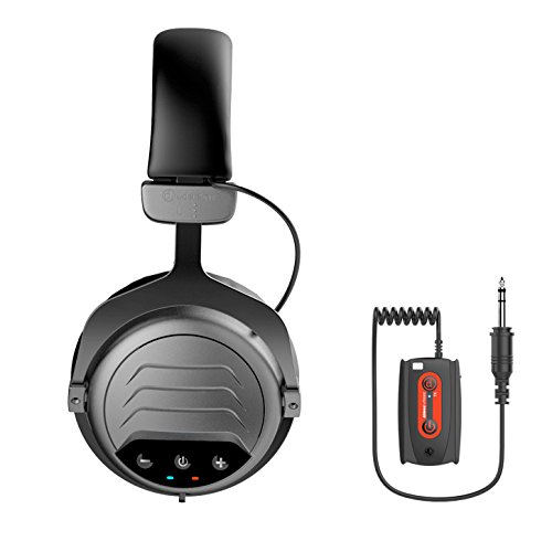 Deteknix W3 Pro Headphones with 1/8' Plug for Metal Detectors