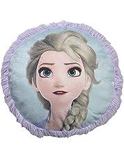 Disney Frozen 2 Sisters Back Elsa Anna Decorative Pillow for Kids - 14 inch Fluff Pillow