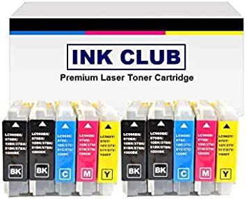 Inkcool 3 Pack Compatible with Brother LC51BKS 240C 3360C 440CN 465cn 5460CN 5860CN 665CW LC51 BK Black Ink Cartridge for for Brother DCP-130c 330c 350C Intellifax 1360 1860C 1960c 2480C 2580c MFC-230C