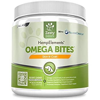 Amazon.com : Zesty Paws Omega 3 Alaskan Fish Oil Chew