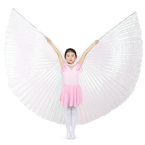 Dance Fairy Kids Colorful Belly Dance Isis Wings with - Ala Kids