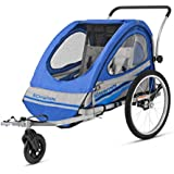 Pacific Cycle Schwinn Trailblazer Double Bicycle Trailer