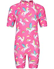 Mountain Warehouse Traje de baño Infantil - Traje de baño elástico para bebés, protección UV máxima, Secado rápido, Cremallera Posterior - Ideal para Playa y Piscina