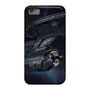 Casesbest88 Apple Iphone 6 Plus Shock Absorption Cell-phone Hard Covers Custom Realistic Star Trek Classic Ncc 1701 Vehicle Pictures [KrS636zLQt]