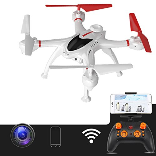 Gbell Helicopter Warrior Drone Camera Quadcopter 2.4GHz 6Axis Foldable Selfie Drone,G-Senso,Headless Mode,One Key Take off/Landing,Best Birthday Christmas New Year Gifts for Kids Adults (Multicolor) by Gbell