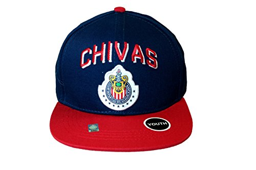 Youth Kid Size Chivas De Guadalajara Soccer Authentic Official Licensed Soccer Trucker Cap -006 by RHINOXGROUP