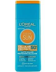 L'Oréal Paris Sublime Sun Cellular Protect, Latte Solare Protezione Cellulare IP 50, 200 ml