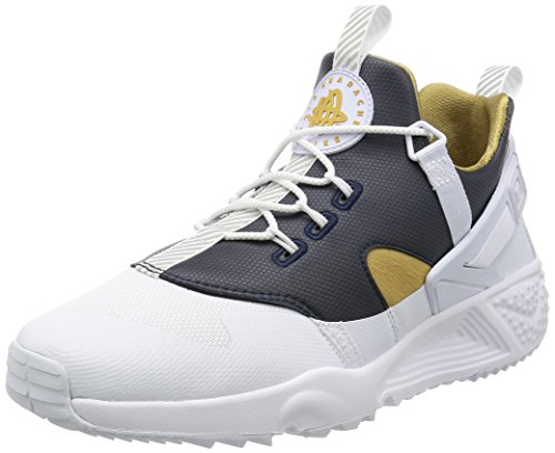 Nike 806979-100, Scarpe da Basket Uomo Bianco (White / Metallic Gold-dark Obsidian-white)