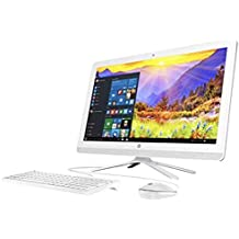 HP 20-c013w All-in-One PC J3060 1.60GHz 4GB RAM 500GB HDD Windows10 - White