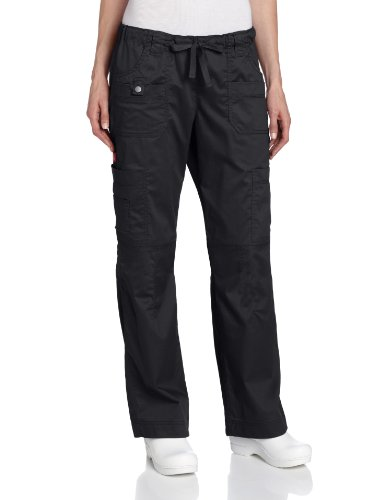 Dickies Scrubs Womens Solid Stitch