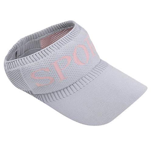 Naladoo Sun Sports Visor Men Women Cap Hat for Outdoor Golf Tennis Running Jogging Hiking