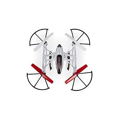 World Tech Toys Elite Mini Orion Spy Drone 2.4GHz 4.5CH Picture/Video Camera RC Quadcopter, White, 12 x 7.75 x 4.25: Toys & Games
