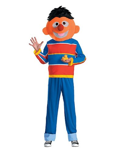 Ernie Adult Costume - X-Large (Rubber Ducky Costume For Adults)