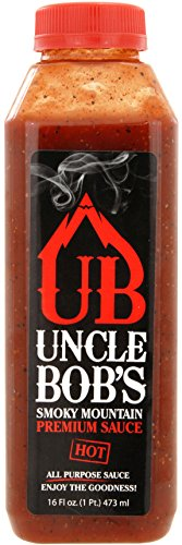 Uncle Bob's Smoky Mountain Premium Sauce - Hot