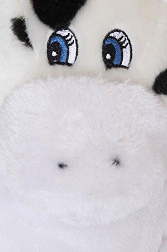 Loungeable Boutique, Mujer Chica Cómodo Novedad Animal Pantuflas Claire Cow