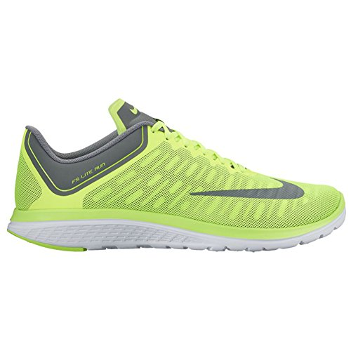 NIKE Men's FS Lite Run 4 Running Shoe Volt Cool Grey Dark Grey buy cheap enjoy buy cheap sast outlet exclusive pay with visa for sale vecFs