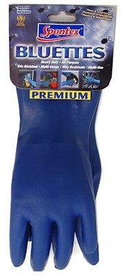 Spontex Neoprene Gloves Blue Neoprene Coating, Cotton Knit Lining Large Boxed
