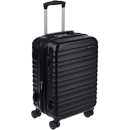 AmazonBasics Hardside Carry-On Spinner Suitcase Luggage...