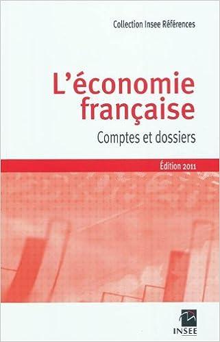 Téléchargement L'économie française : Comptes et dossiers - Rapport sur les comptes de la nation 2010 pdf