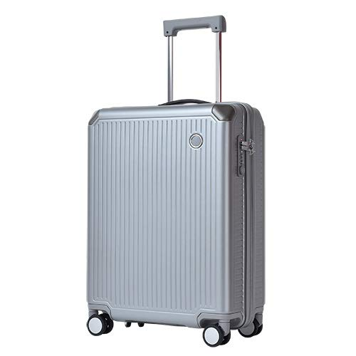 Echolac エコーラック SHOGUN ショーグン スーツケース TSAロック搭載 4輪 39L 2泊 3泊 50.5cm PC148-20 B07NBXM12W シルバー