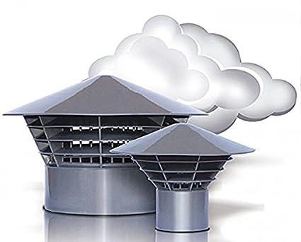 Vent Hood - Haze Hat -  Univent  DN 160 150 Roof Vent for 150 mm Pipe   Amazon.co.uk  DIY   Tools 0f0bb540b9ea