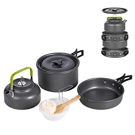 Terra Hiker Camping Cookware, Nonstick, Lightweight...
