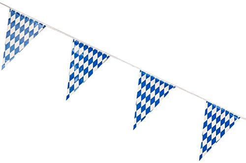 (Beistle 57775 Oktoberfest Pennant Banner, 17 by)