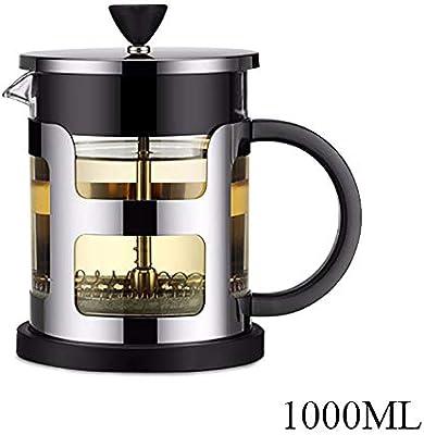 600 / 1000Ml Acero Inoxidable Presión Francesa Cafetera Calor ...