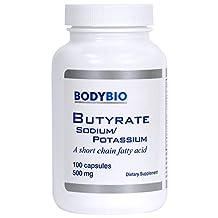 BodyBio/E-Lyte, Sodium-Potassium Butyrate 500 mg 100caps