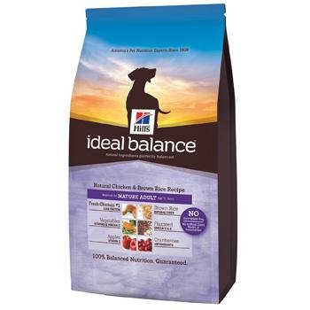 Hill's Ideal Balance Chicken and Brown Rice Recipe Puppy Dry Dog Food Bag