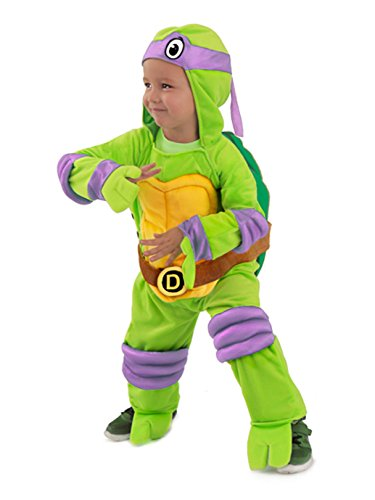 Princess Paradise Baby's Teenage Mutant Ninja Turtles Costume Jumpsuit, Donatello, Small