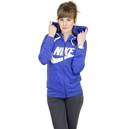 Nike Gym Vintage Hoodie (S, Comet Blue/Sail)