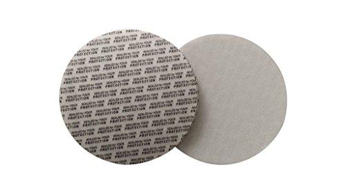 (Rewarding Essentials 43 mm Pressure Sensitive PS Foam Cap Liners Tamper Seal Cap Liner Sealed for your Protection (200))